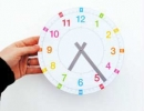 Usefull clock for kids | 10 Educational Kids Crafts - Tinyme Blog
