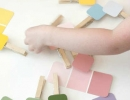 Easy and fun paint chip game! | 10 Educational Kids Crafts - Tinyme Blog