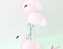 Simply amazing flamingo on a stick | 10 Fabulous Flamingo DIYS - Tinyme Blog