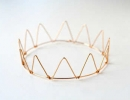 Adorable DIY Wire Crown | 10 Fanciful Party Crowns - Tinyme Blog