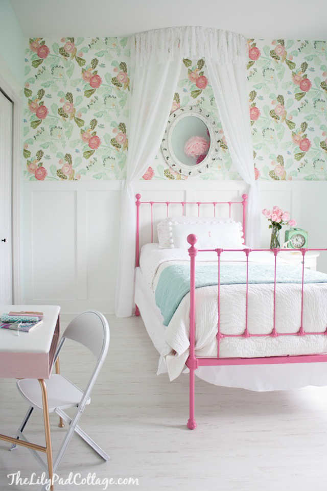 Girls Room: 10 Floral Girls Rooms
