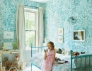 Sweet and pretty blue girls room | 10 Floral Girls Rooms - Tinyme Blog