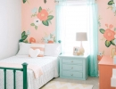 Pretty fresh floral wallpaper | 10 Floral Girls Rooms - Tinyme Blog