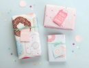 Sweetest donut gift wrap design | 10 Fun and Fabulous Wrapping Paper - Tinyme Blog