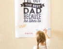 Giant Sized Poster | 10 Lovely Little Boys Rooms Part 5 - Tinyme Blog