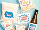 Superhero Snacks Labels | 10 Lovely Little Boys Rooms Part 5 - Tinyme Blog
