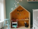 Adorable little indoor cubby house | 10 Fun & Friendly Playrooms Part 2 - Tinyme Blog