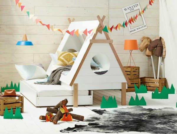 Beautifully designed tee pee kids trundle bed   10 Fun Kids Bedrooms    Tinyme Blog. 10 Fun Kids Bedrooms   Tinyme Blog