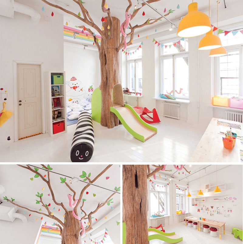 10 friendly fun kids playrooms tinyme blog for Kids play rooms