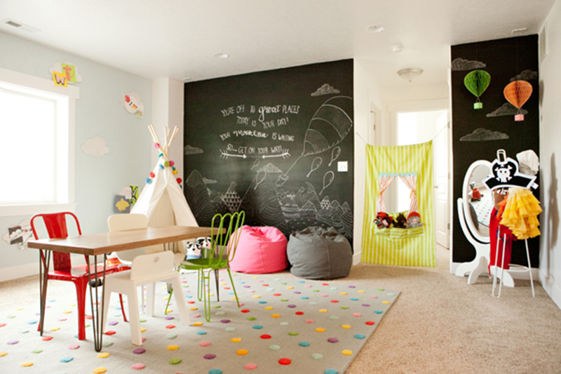 10 Friendly Fun Kids Playrooms Tinyme Blog
