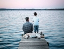 Fishing at Sunrise | 10 Fun Things To Do With Your Dad - Tinyme Blog