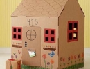 Make a Cardboard House | 10 Fun Things To Do With Your Dad - Tinyme Blog