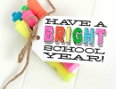 Wonderful back-to-school highlighter gift   10 Gift Ideas for Teachers - Tinyme Blog