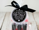 Toe-tally awesome teacher gift | 10 Gift Ideas for Teachers - Tinyme Blog