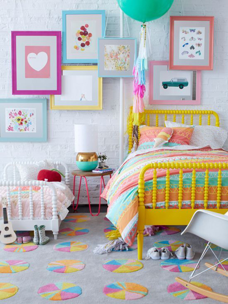 10 gorgeous girls rooms tinyme blog for Girl room ideas pinterest