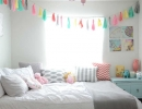Colorful garlands in a girl land   10 Gorgeous Girls Rooms Part 3 - Tinyme Blog