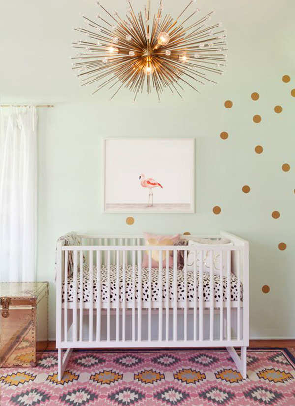 10 gorgeous gold kids rooms 2