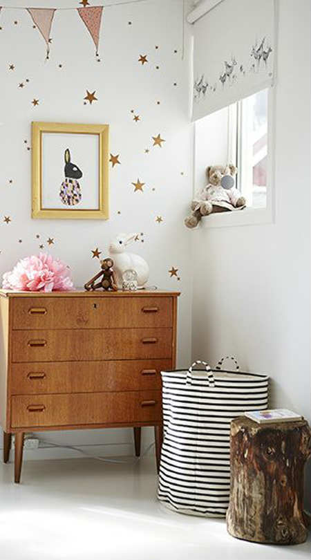 Charming Wall Seal Of Little Stars 10 Gorgeous Gold Kids Rooms Tinyme Blog