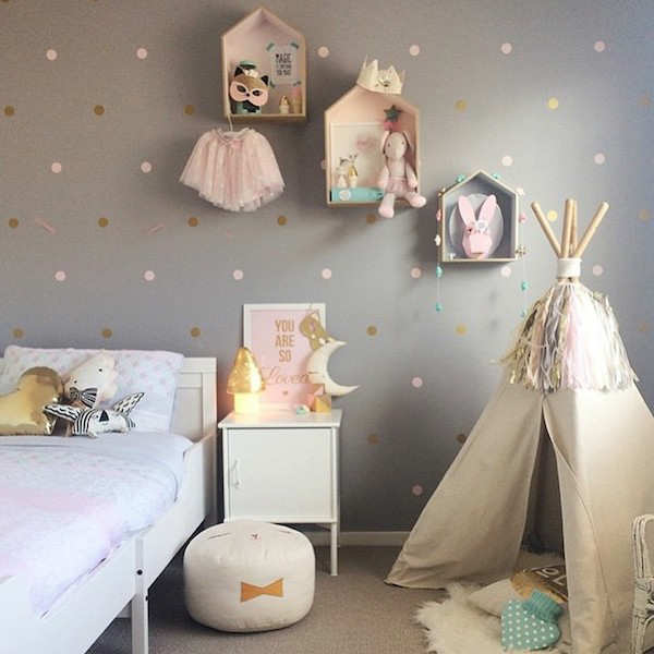 Best 25 Teepees Ideas On Pinterest: 10 Gorgeous Gold Kids Rooms