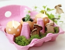 Easy and affordable Easter center piece | 10 Inspiring Easter Crafts - Tinyme Blog