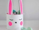 Easy and clever Easter basket | 10 Inspiring Easter Crafts - Tinyme Blog