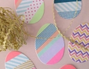 DIY washi tape Easter egg cards | 10 Inspiring Easter Crafts - Tinyme Blog