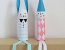 Coolest DIY Easter bunny and clown | 10 Inspiring Easter Crafts - Tinyme Blog