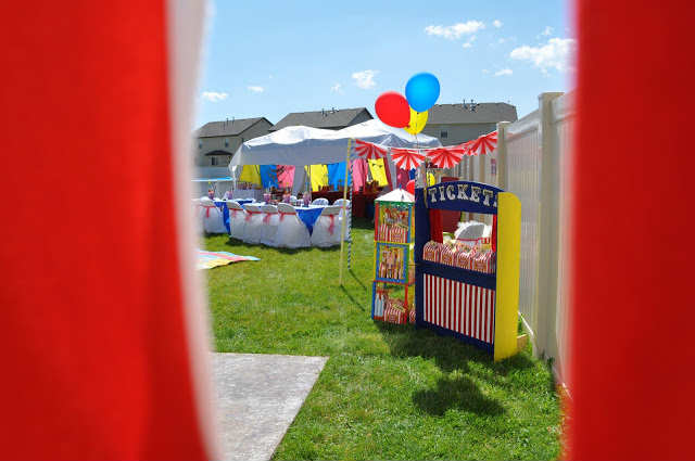 Attrayant Amazing Circus Party For Little Guys | 10 Kids Backyard Party Ideas    Tinyme Blog