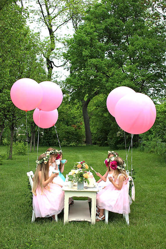 Backyard Birthday Party Ideas For Kids Outdoor secret garden tea party | 10 Kids Backyard Party Ideas - Tinyme Blog