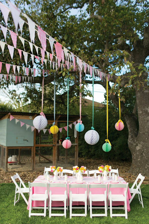 Decorations For Backyard Party :  garden birthday party  10 Kids Backyard Party Ideas  Tinyme Blog