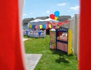 Amazing circus party for little guys | 10 Kids Backyard Party Ideas - Tinyme Blog