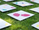 DIY giant matching game for the kiddos | 10 Kids Party Activities - Tinyme Blog