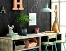 Double desk and toys storage | 10 Kids Study Nooks - Tinyme Blog