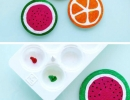 Fun and easy DIY fruit coasters | 10 Kids Summer Activities + Crafts - Tinyme Blog