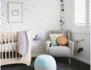 So chic and so soft neutral colors | 10 Light & Bright Nurseries - Tinyme Blog