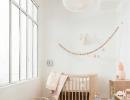 Simple and sweet wooden nursery | 10 Light & Bright Nurseries - Tinyme Blog