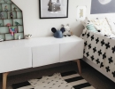 Classic black and white   10 Lovely Little Boys Rooms - Tinyme Blog