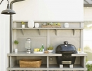 Simply Elegant Outdoor Kitchen | 10 Lovely Little Boys Rooms Part 5 - Tinyme Blog