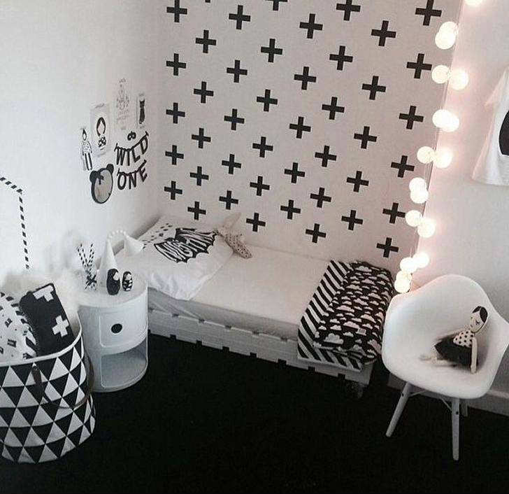 10 Monochrome Kids Rooms