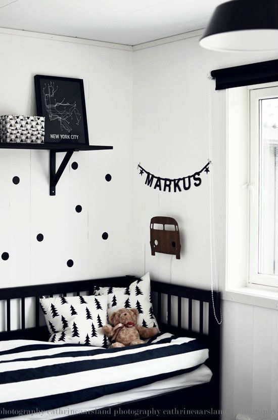 Exceptional Lovely Boys Room | 10 Monochrome Kids Rooms   Tinyme Blog