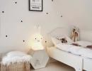 Incredibly versatile bedroom   10 Monochrome Kids Rooms - Tinyme Blog