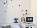 Stylish black and white Scandinavian interior | 10 Monochrome Kids Rooms - Tinyme Blog