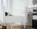 Elegant mix of black and white   10 Monochrome Kids Rooms - Tinyme Blog