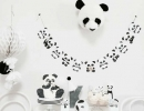 Brighten your next party with panda fun | 10 Monochrome Party Ideas - Tinyme Blog