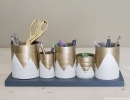 Decorate your home with this pretty darn easy rustic-modern tin cans | 10 New Year Organisation Ideas - Tinyme Blog