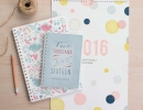 Sweet diaries and calendars | 10 New Year Organisation Ideas - Tinyme Blog