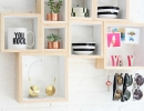 DIY box shelves solutions | 10 New Year Organisation Ideas - Tinyme Blog
