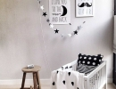 Sweet Scandinavian baby room | 10 Nicely Neutral Nurseries Part 2 - Tinyme Blog
