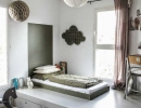 Eclectic kids' room | 10 Nicely Nuetral Kids Rooms - Tinyme Blog