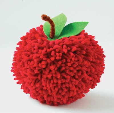 10 perfect pom pom crafts part 2 tinyme blog for Where to buy pom poms for crafts